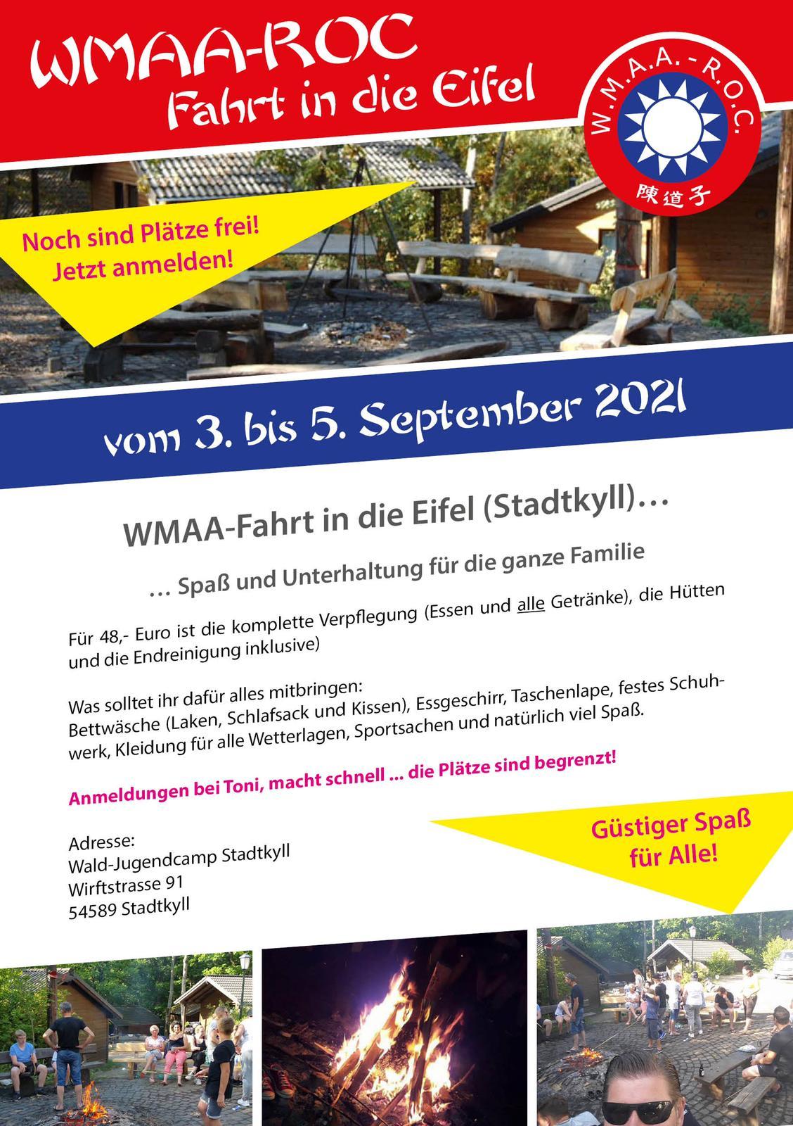 WMAA – Fahrt in die Eifel